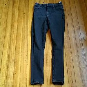 Abercrombie & Fitch black jeans sz 4 super skinny